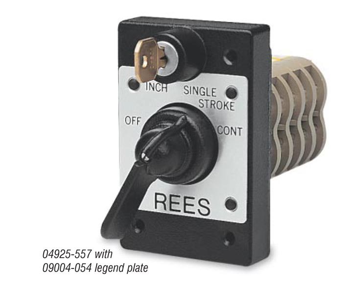 Heavy Duty Selector Switches On Rees Inc