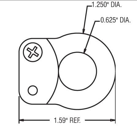 REES 02005501 Swivel Eye Assembly for 04944S